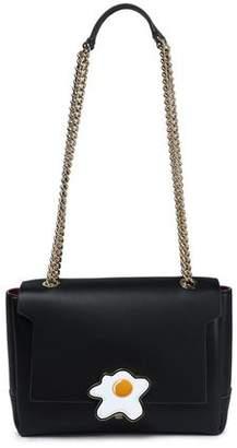 Anya Hindmarch Embellished Leather Shoulder Bag