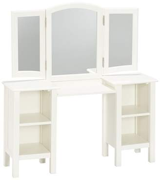 Pottery Barn Kids Vanity Stool & Cushion Set