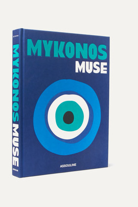 Assouline Mykonos Muse By Lizy Manola Hardcover Book - Blue