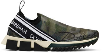 Dolce & Gabbana Green Sorrento Sneakers