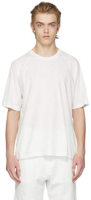 Y-3 White Classic Back Logo T-Shirt