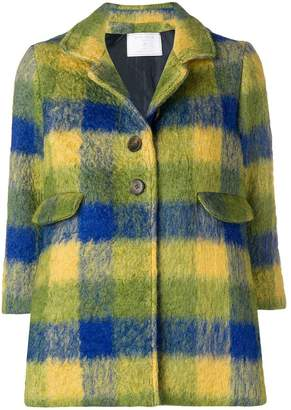 Societe Anonyme Audrey check coat
