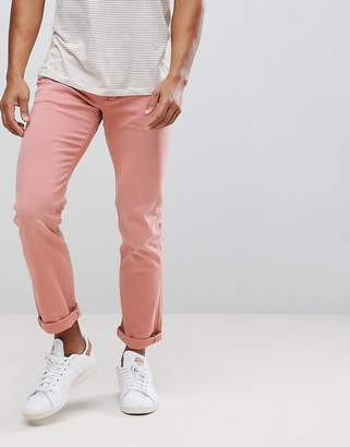 Tommy Hilfiger Bleecker Slim Fit Jeans In Washed Pink