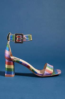 Bibi Lou Rainbow Block Heels