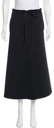 CNC Costume National A-Line Midi Skirt