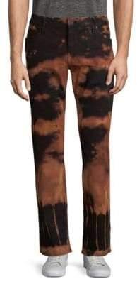 Long Flap Jeans
