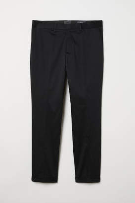 H&M Skinny Fit Chinos - Black