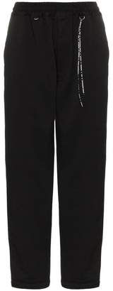 Mastermind Japan Logo Print Tapered Track Pants