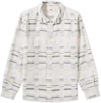 Folk Ratio Patterned Shirt Jacket