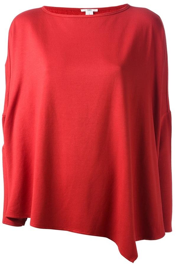 Helmut Lang 'Villous' boxy sweatshirt