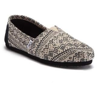 Toms Classic Print Wool Slip-On Sneaker