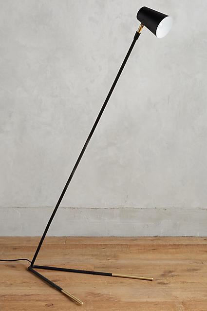 Anthropologie Anthropologie Gold-Dipped Floor Lamp