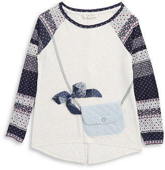 Jessica Simpson Girls 7-16 Purse Pocket Top $36.50 thestylecure.com