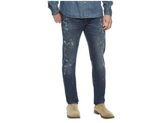 Polo Ralph Lauren Sullivan Slim Five-Pocket Denim in Sawyer Paint Spatter Men's Jeans
