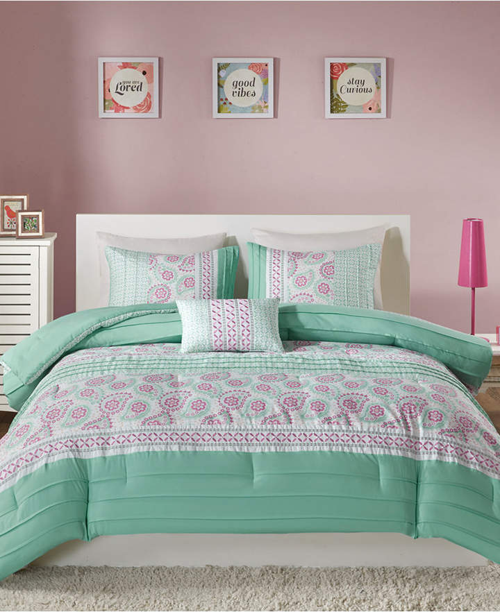 Mi Zone Suzette 3-Pc. Twin/Twin Xl Comforter Set Bedding