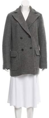 Steven Alan Peak-Lapel Short Coat