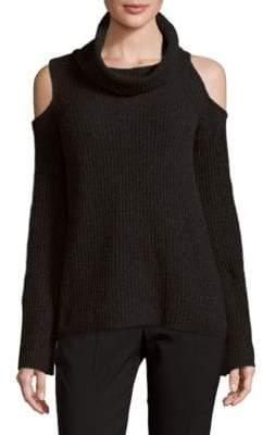 Elie Tahari Rib-Knit Cashmere Sweater