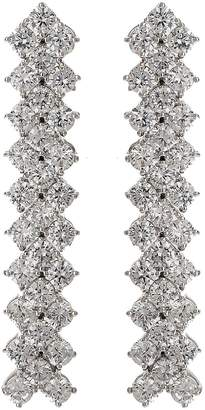 Mikey Fine Cubic V Link Drop Earring