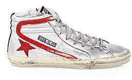 Golden Goose Men's Men's Metallic Hi-Top Sneakers