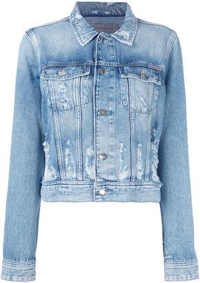Calvin Klein Jeans denim jacket $163.27 thestylecure.com