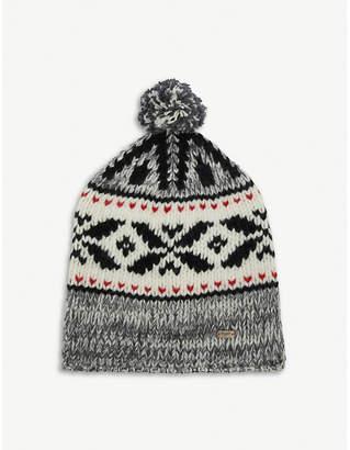Saint Laurent Mountain wool beanie