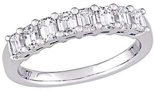 Affinity Diamond Jewelry Affinity 14K 9/10 cttw Emerald-cut Diamond 8-St