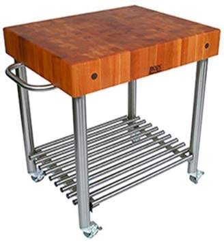 "John Boos & Co. Cucina DAmico Cart, 30"" x 24"" x 35"""