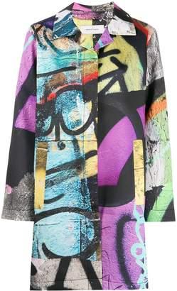 Marques Almeida Marques'Almeida Graffiti coat