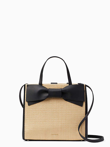 Kate Spade Olive drive straw brigette - LIGHT NATURAL - STYLE