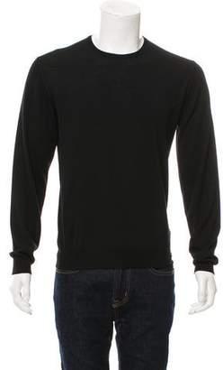 Saint Laurent Merino Wool Crew Neck Sweater