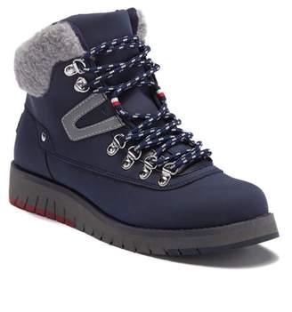 Tommy Hilfiger Hayet Faux Fur Trim Lace Boot