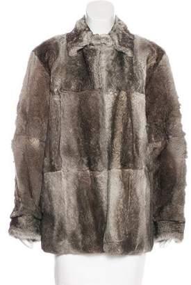 Maison Margiela Fur Short Coat