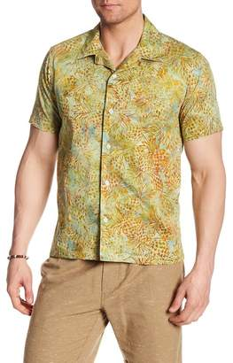 Jeff Harbor Pineapple Print Regular Fit Shirt