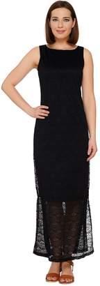 C. Wonder Regular Stretch Lace Sleeveless Maxi Dress