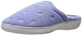 Isotoner Women's Classic Terry Clog Slippers Slip