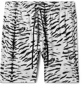 0c28ecdde63ed Amiri Wide-Leg Mid-Length Printed Swim Shorts