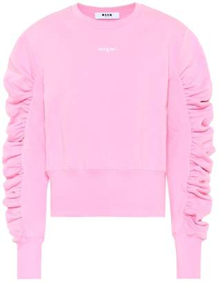 MSGM Cotton jersey sweatshirt
