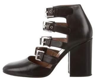 Laurence Dacade Leather Buckle Pumps