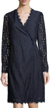 Diane von Furstenberg Julian Lace Wrap Dress