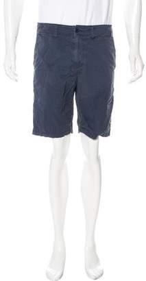 John Varvatos Flat Front Woven Shorts