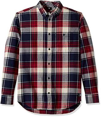 DC Men's South Ferry Long Sleeve Flannel Shirt