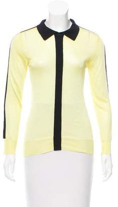 Paper London Contrast-Trimmed Knit Top