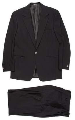 Gianni Versace Wool One-Button Suit