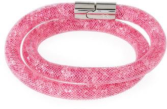 Swarovski Stardust Convertible Crystal Mesh Bracelet/Choker, Pink, Small $60 thestylecure.com