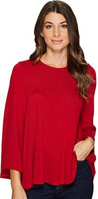 Karen Kane Women's Bell Sleeve Swing Sweater