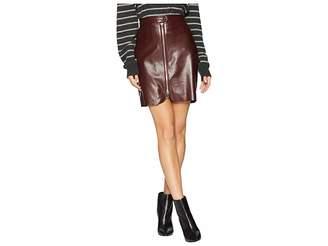 Bishop + Young Exposed Zip Mini Skirt