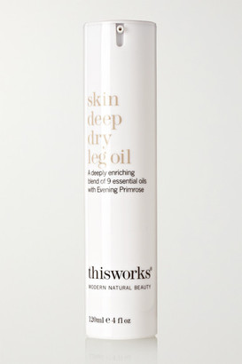 This Works Skin Deep Dry Leg Oil, 120ml - one size