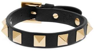 Valentino Rockstud leather bracelet