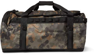069785b520 The North Face Base Camp Large Camouflage-Print Coated-Canvas Duffle Bag