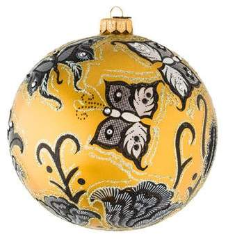 Jay Strongwater Butterfly Nouveau Ornament